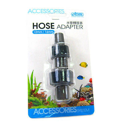 ISTA Hose Adapter 12/16mm & 16/22mm - Connect converter filter pipe aquarium