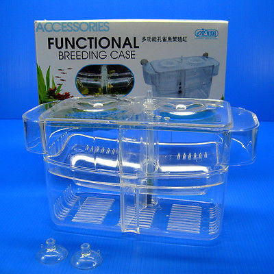 Functional Breeding Case - Spawning BOX satellite outside Seperating Fry rearing
