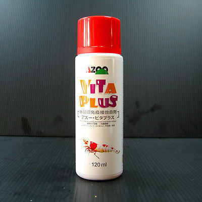 VITA Plus - Crystal Red Shrimp Cherry bee vitamin 120ml / 4oz aquarium fish tank