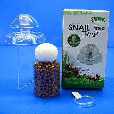 ISTA SNAIL TRAP & free bait for aquarium fish plants tank Planarian leech Catch