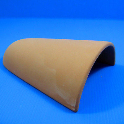 Ceramic red spawning tile Aquarium Ornament - breeding cones cave Decor cichlid