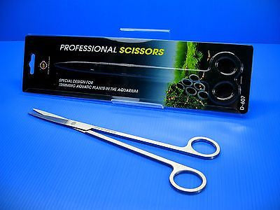Aquarium Stainless Plant Scissors - Java Fern Live Fish Tank