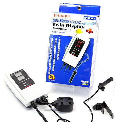 Temperature Controller Thermostat 1000W Heater AC100~240V Aquarium tank Globally