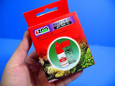 AZOO PH 4~9 TEST KIT 57 tests Aquarium plant freshwater saltwater reef fish tank