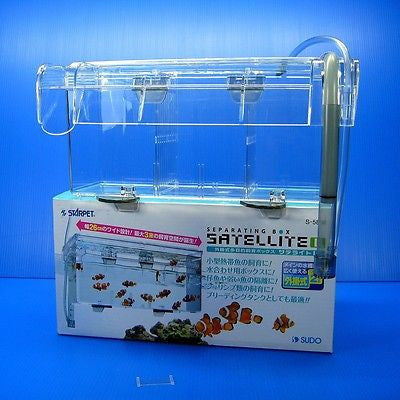 Spawning BOX 2L satellite hanging outside Breeding Seperating Fish Fry rearing