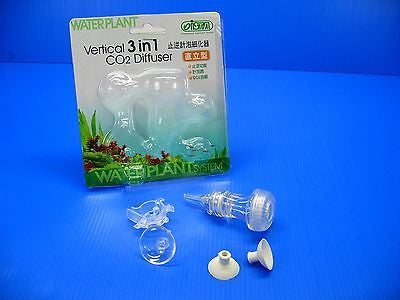 ISTA Vertical 3 in 1 CO2 Diffuser bubble counter check valve for aquarium plants