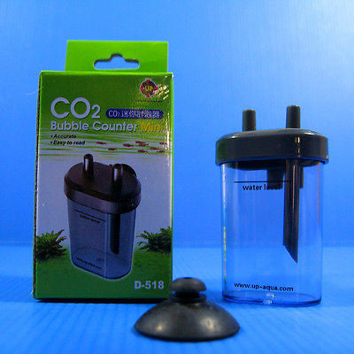CO2 BUBBLES COUNTER - aquarium plant moss  Solenoid Regulator diffuser ATOMIZER