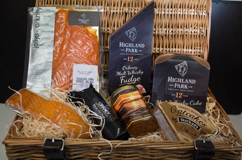Whisky Lovers Orkney Hampers