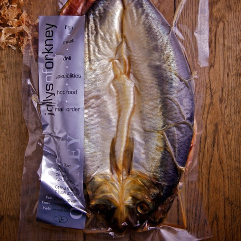 Oak Smoked Whole Kippers - Kippers & Mackerel - Jollys of Orkney