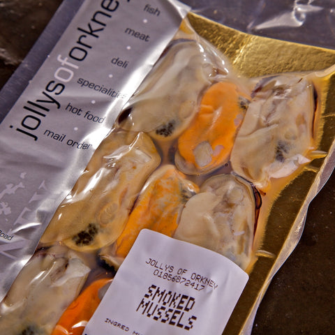 Smoked Mussels - Make your own Orkney Hamper - Jollys of Orkney