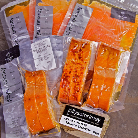 Luxury Smoked Salmon Hamper - Orkney Hampers - Jollys of Orkney - 1