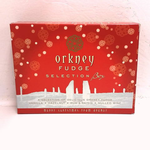 Orkney Fudge - Christmas Variety box 400g - Orkney Fudge - Jollys of Orkney