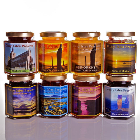 Orkney Isles Preserves - Jam/Marmalade - Make your own Orkney Hamper - Jollys of Orkney - 1