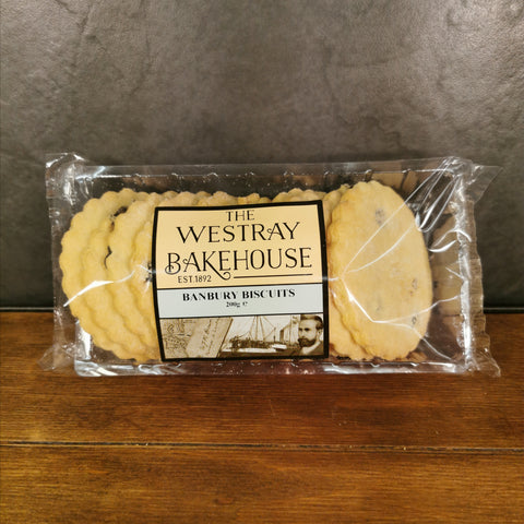 Westray Banbury Biscuits