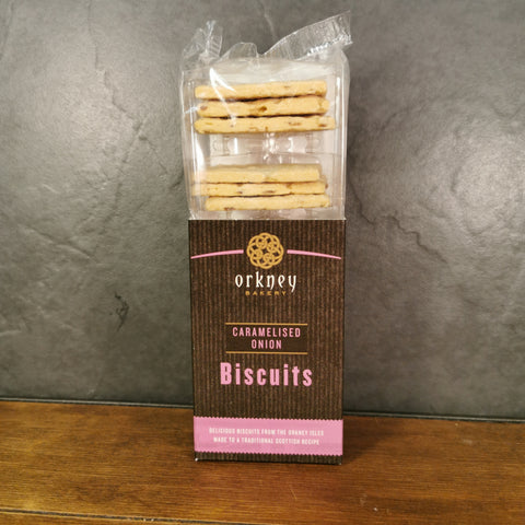 Orkney Caramelised Onion Biscuits