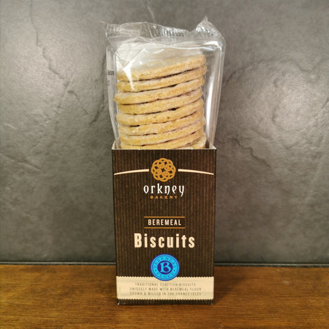 Orkney Beremeal Biscuits