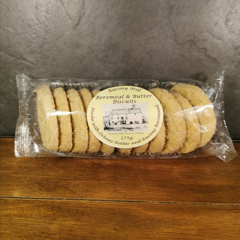 Barony Mill Beremeal Butter Biscuits