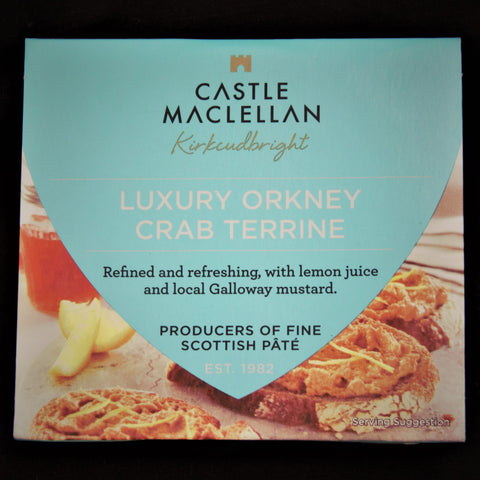 Crab Paté - Luxury Orkney Terrine