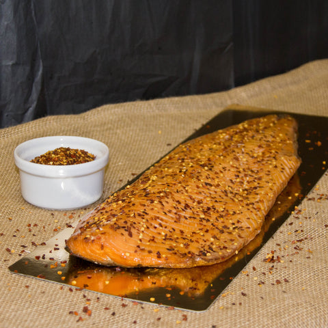 Hot Cure Smoked Salmon - Flavoured Side