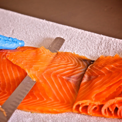 Smoked Salmon - Side - Smoked Salmon - Jollys of Orkney - 3