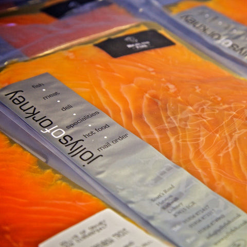 Highland Park Whisky Smoked Salmon - Pack - Highland Park Whisky Smoked Salmon - Jollys of Orkney - 2