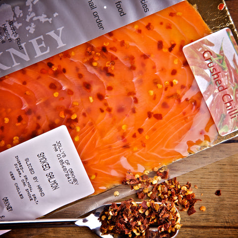Smoked Salmon - Flavoured Pack - Smoked Salmon - Jollys of Orkney - 3