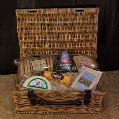 Peedie Cheese & Biscuit Hamper