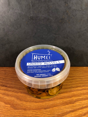 Humes Smoked Mussels