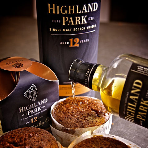 Highland Park Whisky Cake