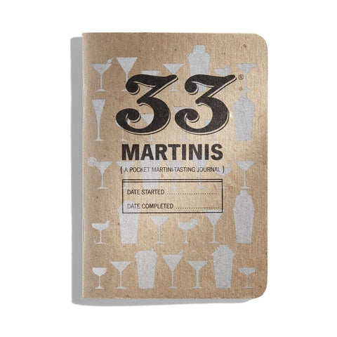 33 Martinis Journal