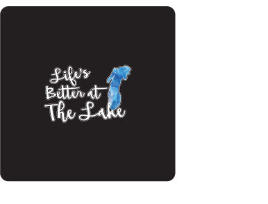 Life Is Better At the Lake Lg Decal