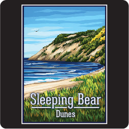 Sleeping Bear Dunes Lg Decal