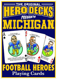 Playing Cards - U of M Heroes