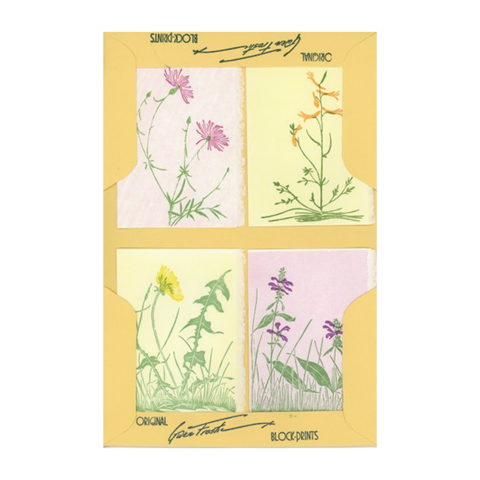 Small Note Folder - Wildflowers