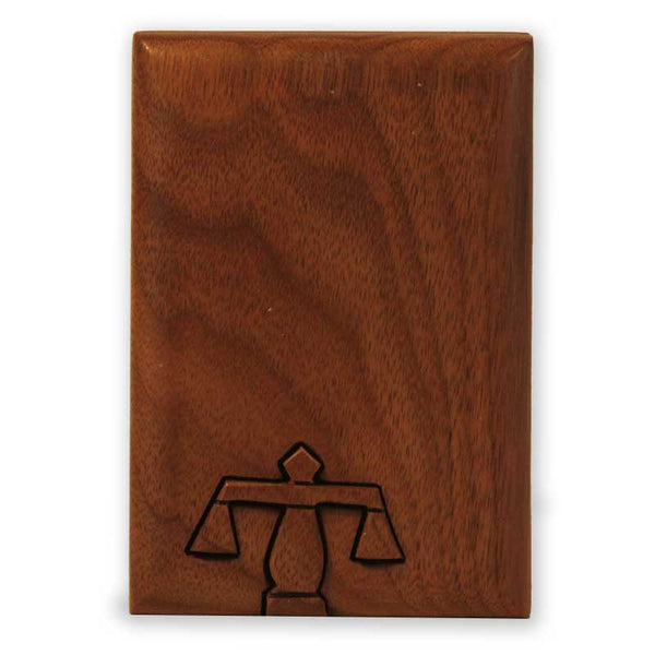 Scales of Justice Key Puzzle Box