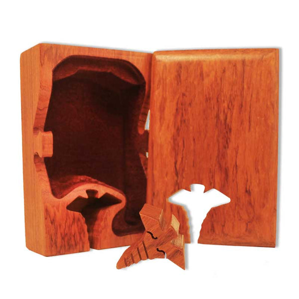 Caduceus Key Puzzle Box