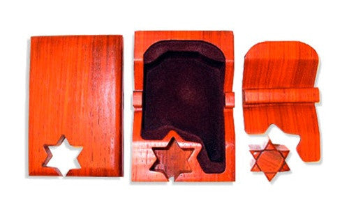 Star of David Key Puzzle Box