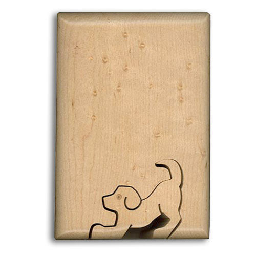 Jumping Dog Key Puzzle Box