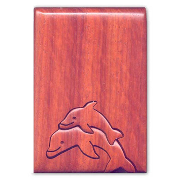 Dolphins Jumping Key Puzzle Box
