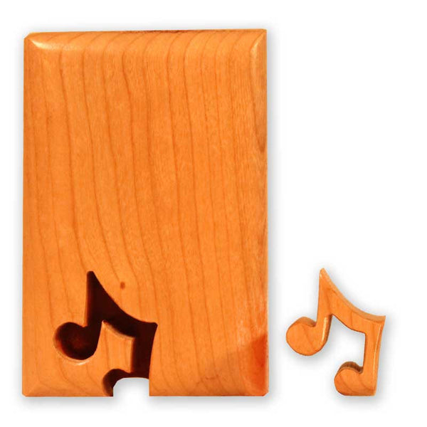 Music Note Key Puzzle Box