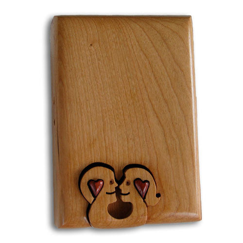 Two Lovers Key Puzzle Box