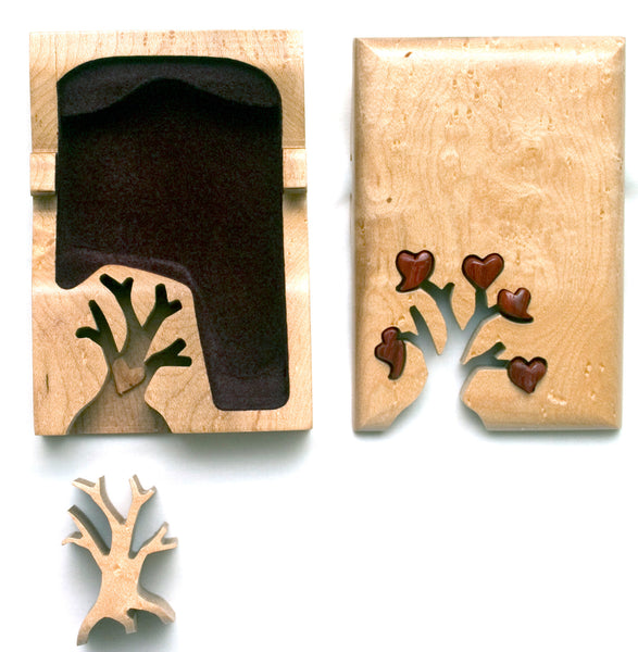 Tree of Hearts Key Puzzle Box