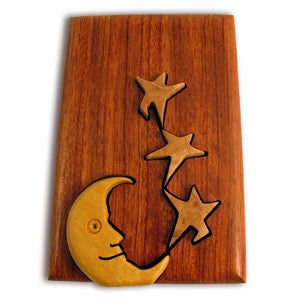 Moon & Star Dancers Key Puzzle Box - Boxology