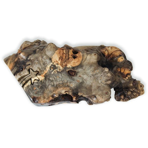 Buckeye Natural Edge Shooting Star Abstract Key Puzzle Box