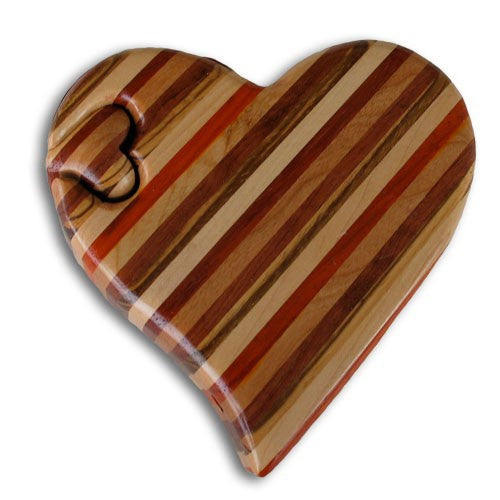Large Striped Heart