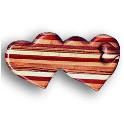 Double Striped Heart