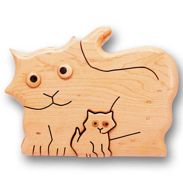 Cat Large Puzzle Box - Boxology
