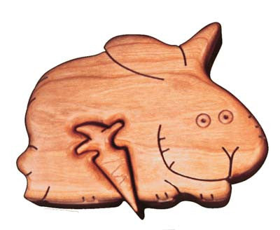 Rabbit Puzzle Box - Boxology