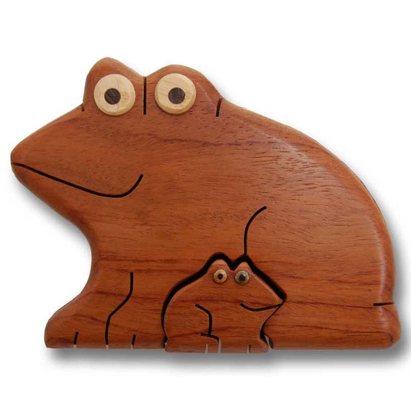 Frog Puzzle Box - Boxology