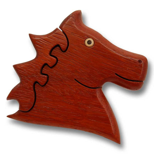 Horse Head Puzzle Box Small - Boxology